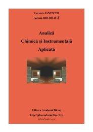 Analiza Chimica si Instrumentala Aplicata - AcademicDirect