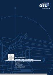Geschäftsbereich Messe-Logistik/Messe-Service