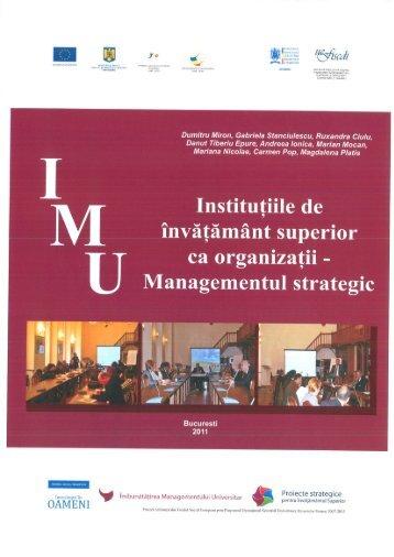 Modul de formare-Management Strategic - uefiscdi