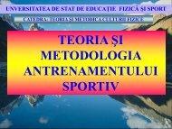 Teoria si metodologia antrenamentului sportiv (Lectia12)