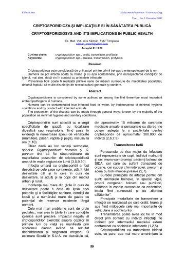 ARTICOL 12 IMRE KALMAN - Veterinary Pharmacon