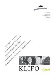 klifo 1 09 - Kantonale Psychiatrische Dienste - Sektor Nord - Kanton ...