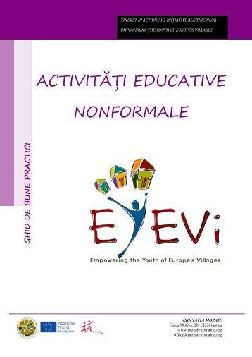 Activitati educative nonformale-ghid de bune practici