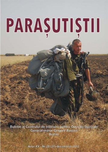 paraşutiştii - Revista Forţelor Terestre