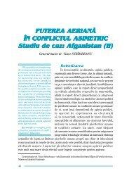 PUTEREA AERIAN~ ÎN CONFLICTUL ASIMETRIC Studiu de caz ...