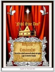 Anul II, Nr. 7(9), Iunie 2012 - Revista de Cultura Universala Regatul ...