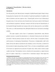 Contemporary Financialization: A Marxian Analysis By Gilad Isaacs ...