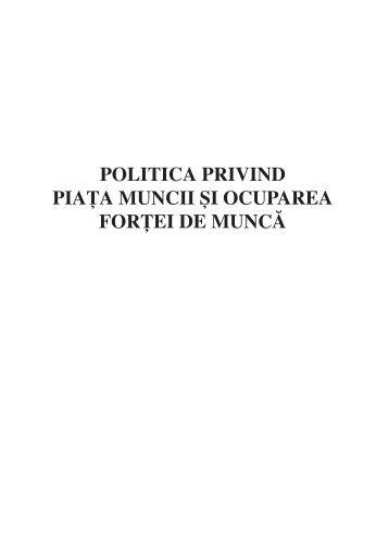 Piata muncii.indd - Institutul European din Romania
