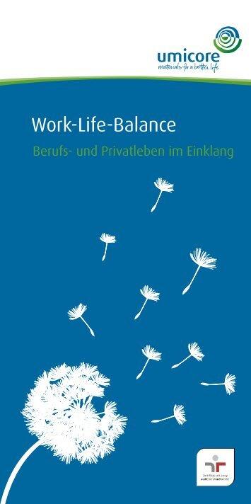 Work-Life-Balance - Umicore