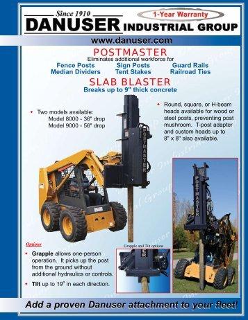 Danuser Postmaster - Slab Blaster