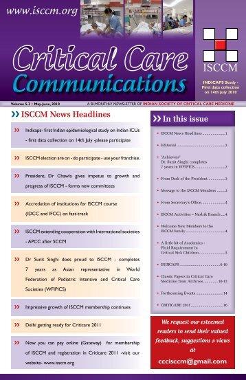 Isccm org Magazines