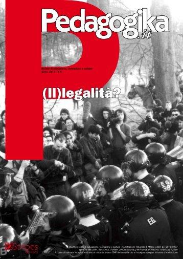 (Il)legalità? - Pedagogika
