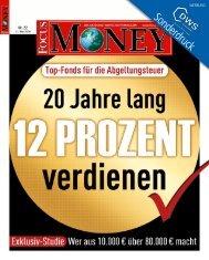 Top-Fonds für die Abgeltungsteuer - Ihr Ruhestandsplaner