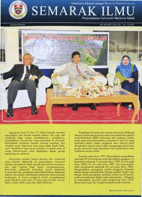 Jan-Jun 2009 - Universiti Malaysia Sabah
