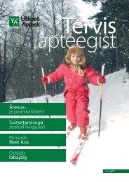 Loe 2007 talve ajakirja - Ülikooli Apteek