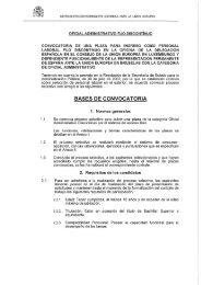 OFICIAL ADMINISTRATIVO FIJO DISCONTINUO CONVOCATORIA ...