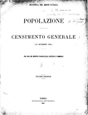 POPOLAZIONE - Istat