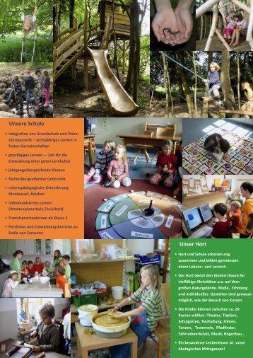 Schulflyer - Freie Schule Rügen