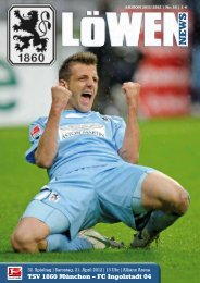 TSV 1860 München – FC Ingolstadt 04