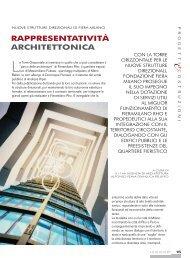 RAPPRESENTATIVITÀ ARCHITETTONICA - Edizioni Pei