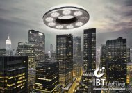 Commitment for Innovation - Ibt Lighting