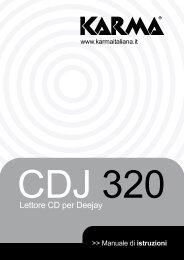 Lettore CD per Deejay - Karma