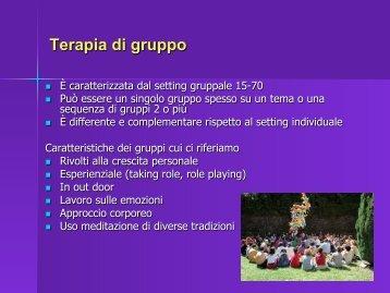 Terapia di gruppo - Psicosomatica PNEI