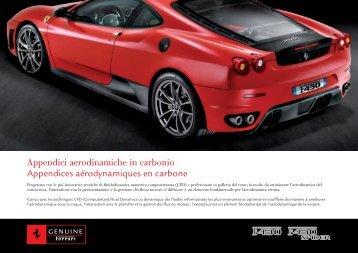 Appendici aerodinamiche in carbonio Appendices ... - Ferrari