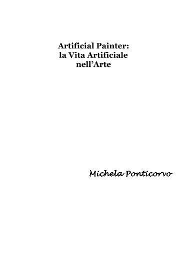 Artificial Painter - Centro interdipartimentale della comunicazione