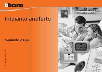 Impianto antifurto - MyHome BTicino