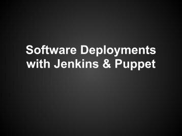 Jenkins-Puppet-Deployment