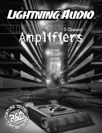 La 2ch-amp man - Lightning Audio