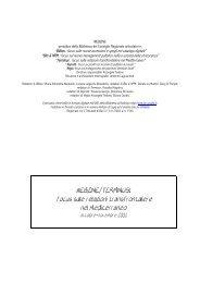 Ottobre-Novembre - Biblioteca del Consiglio Regionale della Puglia