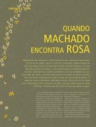 Quando Machado encontra Rosa – dois gigantes da ... - revista livro!