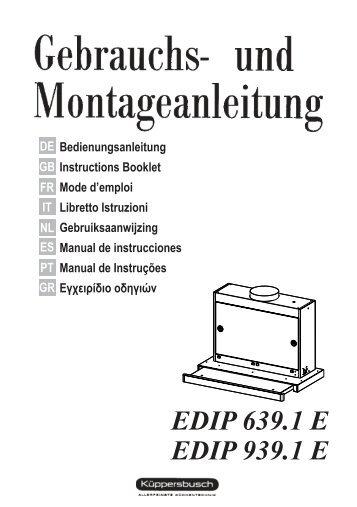EDIP 639.1 E EDIP 939.1 E
