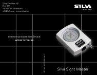 Silva Sight Master