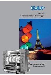 VARIUS Il portale mobile di lavaggio L'autolavaggio per le automobili