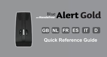QRG Blue Alert Gold_cover - Mr Handsfree