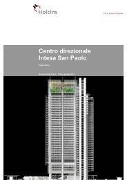 Centro direzionale Intesa San Paolo - Holcim Italia S.p.A.