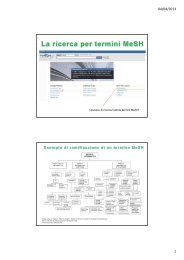 Terzo incontro - Università degli Studi di Torino