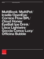 MultiBook/MultiPot/ Icselle/OpenEye/ Cornice/Flow/BPL ... - Unici
