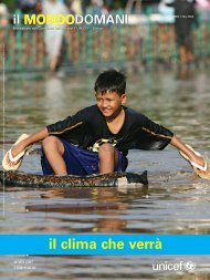 il clima che verrà - Unicef