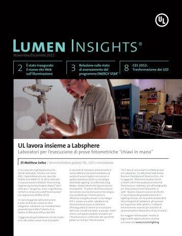 UL lavora insieme a Labsphere - UL.com