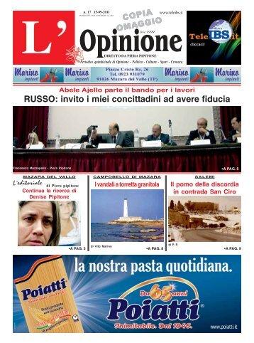 L'Opinione n°17 del 15-09-2011 - teleIBS