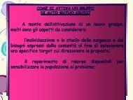 Come si attiva un gruppo di Auto Mutuo Aiuto ... - Volontariato Lazio