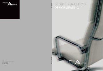 SEDUTE PER UFFICIO OFFICE SEATING - Riz Office