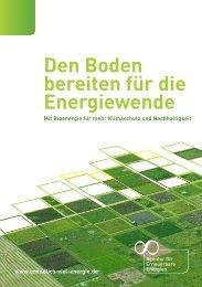 Den Boden bereiten für die Energiewende - Agentur für ...
