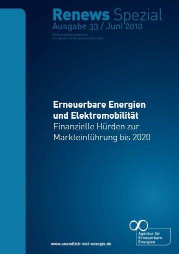 Ausgabe 33 / Juni 2010 Erneuerbare Energien Erneuerbare ...