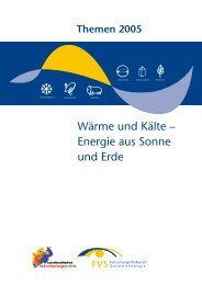 Wärme und Kälte – Energie aus Sonne und Erde