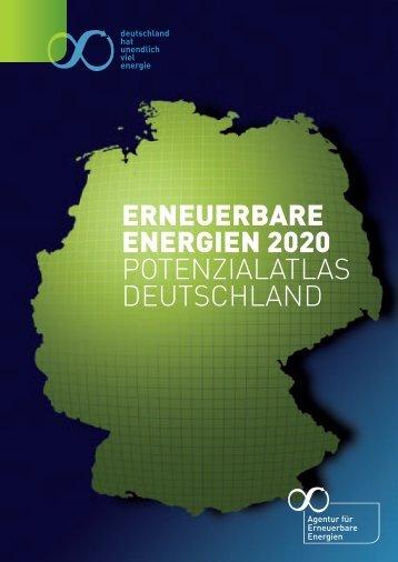 erneuerbare energien 2020 potenzialatlas deutschland - Agentur für ...